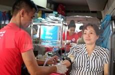 Vietnam espera obtener 45 mil unidades de sangre en campaña de donación