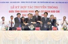 Quang Ninh robustece cooperación con la prensa