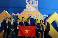 Vietnam obtiene mejores resultados en Olimpiada Internacional de Química