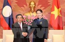 Parlamentos de Vietnam y Laos por contribuir a fomento de relaciones binacionales