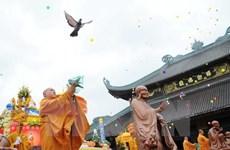 Ministro de Religión y Culto de Camboya visita Long An
