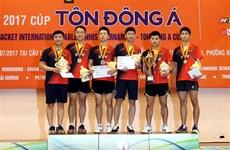 Sudcorea y Tailandia triunfan en torneo de tenis de mesa en Vietnam