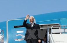 Máximo dirigente partidista vietnamita inicia visita estatal a Camboya