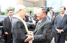 Máximo dirigente político de Vietnam resalta lazos con Camboya