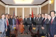 Asociaciones de amistad de Vietnam y Camboya fortalecen cooperación