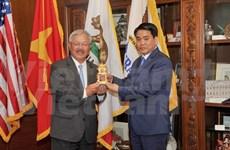 Hanoi desea cooperar con localidades de EE.UU. en ciencia y tecnología