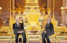 Máximo dirigente partidista de Vietnam finaliza su visita estatal a Camboya