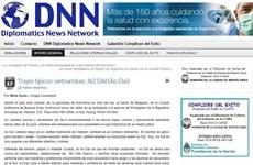 Revista argentina destaca belleza del traje tradicional vietnamita Ao dai