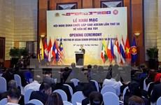 Inauguran en Hanoi reunión de altos funcionarios de ASEAN sobre drogas