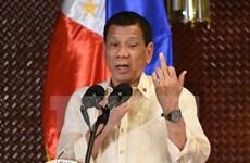 Presidente filipino expresa compromiso de continuar lucha antidrogas