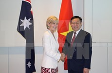 Vicepremier vietnamita continúa visita en Australia