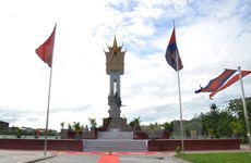 Inauguran Monumento de Amistad Vietnam-Camboya en Battambang