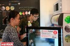 """""""Mama Fanbox"""", la primera cafetería con autoservicio en Hanoi"""