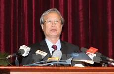 Buró Político designa a nuevo miembro permanente del Secretariado