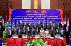 Parlamentos de países del Triángulo de desarrollo buscan impulsar cooperación