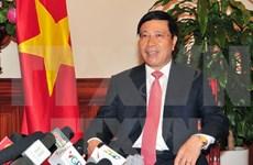 Vietnam propone fortalecer lazos multifacéticos entre paíse del Bajo Mejong e India