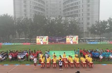 Efectúan torneo amistoso juvenil de fútbol China-ASEAN