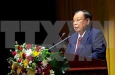 Vietnam y Laos fortalecen nexos amistosos