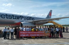 Jestar Pacific abre ruta directa de ciudad vietnamita de Dong Hoi a tailandesa de Chiang Mai