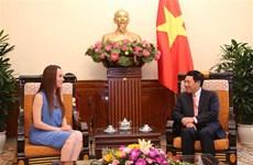 Vicepremier de Vietnam aboga por fomentar lazos parlamentarios con México