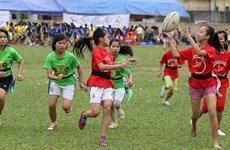 Rugby contribuye a promover la igualdad de género en Vietnam