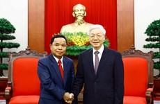 Intensifican nexos partidistas Vietnam-Laos