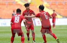 SEA Games 29: equipo futbolístico de Vietnam logra tercera victoria consecutiva