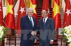 Vietnam y Turquía buscan elevar comercio bilateral a cuatro mil millones de dólares