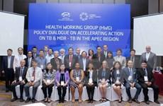 Resaltan papel pionero de Vietnam en APEC en lucha contra tuberculosis