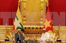 Vietnam y Myanmar establecen asociación estratégica
