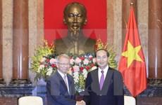 Presidente de Vietnam manifiesta apoyo a cooperación judicial con Sudcorea