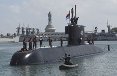 Indonesia recibe nuevo submarino fabricado por Sudcorea