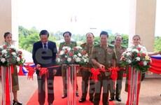 Exposición resalta nexos Vietnam-Laos en seguridad pública
