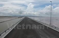 Puente marítimo más largo de Vietnam se abre al tránsito en Día Nacional