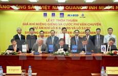 Firman acuerdos sobre precios de gas extraído de Lote B-O Mon en Vietnam