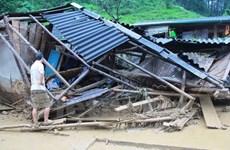 Dos muertos por deslave de tierra en Norte de Vietnam