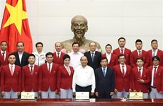 Premier vietnamita resalta hazañas del deporte nacional en SEA Games 29