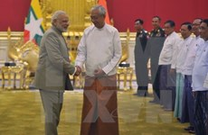 Myanmar e India buscan robustecer cooperación