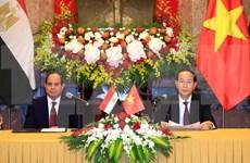 Vietnam y Egipto aumentan intercambio comercial
