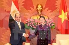 Vietnam y Egipto buscan impulsar nexos interparlamentarios