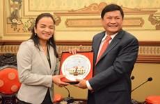 Ciudad Ho Chi Minh y Phnom Penh fortalecen conectividad turística