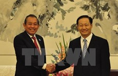 Vicepremier de Vietnam resalta cooperación con región autónoma china de Guangxi