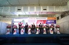 Efectúan en Hanoi exposiciones sobre industria auxiliar