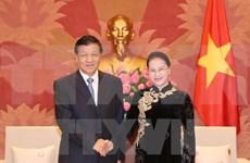 Presidenta del Parlamento vietnamita valora altamente nexos con China