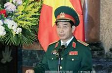 Jefe del Estado Mayor del Ejército Popular de Vietnam recibe a jefe militar camboyano