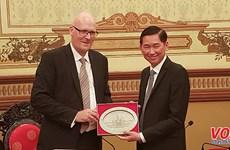 Ciudad Ho Chi Minh coopera con Dinamarca en desarrollo urbano inteligente