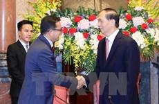 Presidente vietnamita respalda actividades de Cruz Roja y Medialuna Roja