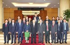 Impulsan nexos partidistas entre Vietnam y Laos