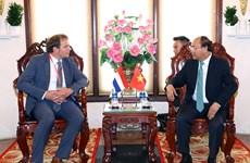 Premier de Vietnam aspira a aprender experiencias de Países Bajos en respuesta al cambio climático