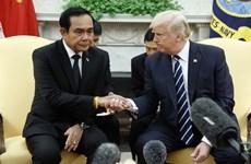 Donald Trump aboga por mejorar relaciones comerciales con Tailandia